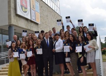 Students of Karazin University have completed diplomatic training in Lithuania